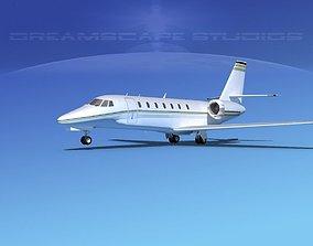 Cessna 680 Citation Sovereign V02 3D model