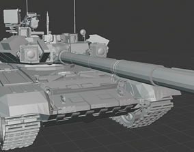 3D print model t 90 tanks