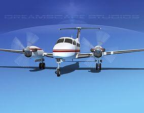 Beechcraft B200 GT King Air V06 3D model
