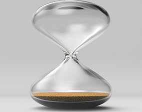 3D model Hourglass Timepiece