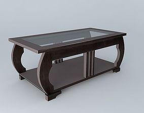 3D model Coffee table ART DECO Maisons du monde