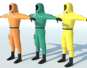 3D model Isolation Suit