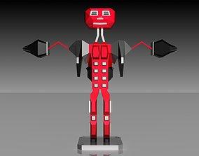 Boxy Robot 3D printable model