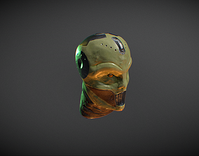 3D model Monster Head 1 MidHigh Poly FREE DOWNLOAD