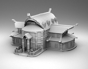 3D print model Vikings house