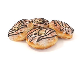 3D model Donuts pastry