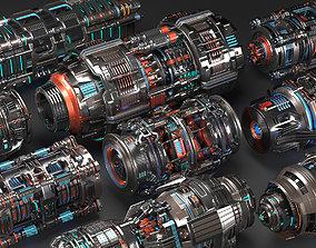 3D model Sci Fi Mega Elements KITBASH - SUBDIVISION 3