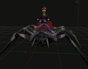 3D asset The Spider Rider