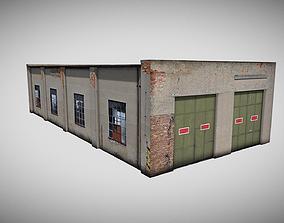 3D model Narrow gauge depot