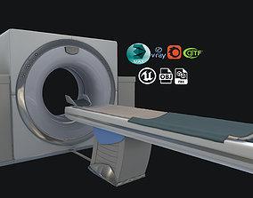 3D model medical scanner MAGNETOM MRI
