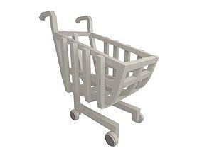 3D model Shopping Cart v1 002
