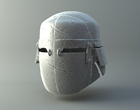 3D printable model Damaged Heavy helmet - Knights of Ren 4