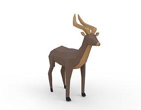 Antelope 3D asset VR / AR ready