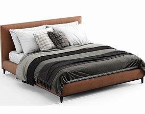 Minotti Andersen Bed 3D PBR