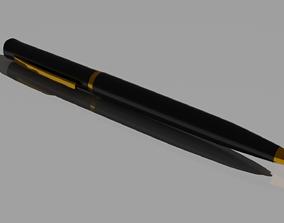 Black pen 3D