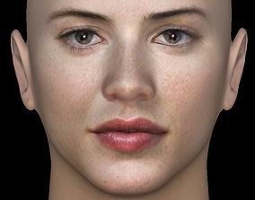 Head Model 18 - Michelle Ryan 3D