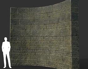 Low poly Ancient Dragon Temple Element 15 190909 3D asset
