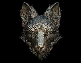 3D print model Fox Head - 2 Versions