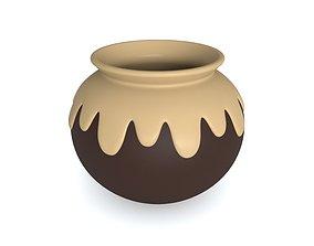 Pot Animal Crossing fleure 3D printable model