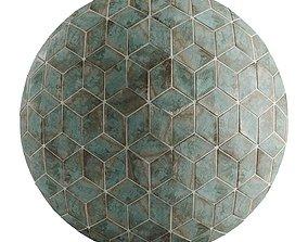 3D asset Hemase Mat 01 - A Mano Rhomb Ottiano 2k - 4k - 8k