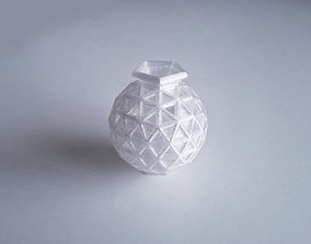 3D printable model decoration Geosphere Vase 25