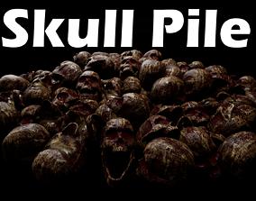 Skull Pile 3D model