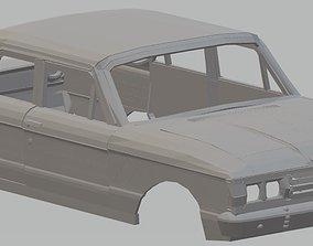 Falcon Printable Body Car