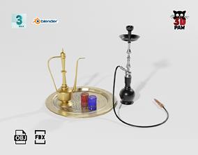 Arab props 3D asset game-ready