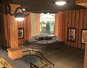 3D model Steampunk Office