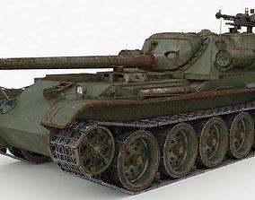 3D model Tank Uralmash SU 101 Russian Vray