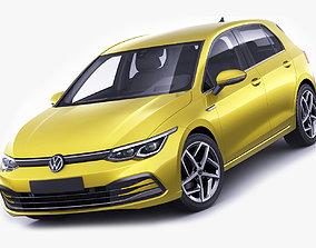 VW Golf 2020 3D model