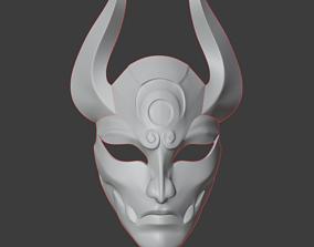 3D printable model blood moon diana mask