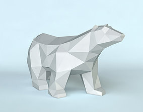3D printable model Bear poly