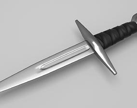 Knight Dagger 3D model