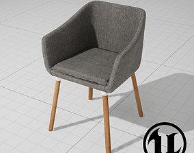 Dune Chair UE4 3D asset