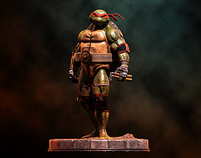 3D printable model Fanart TMNT Michelangelo -