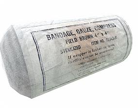 3D asset PBR bandage