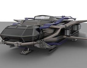 spaceship AUR MAX 3D model