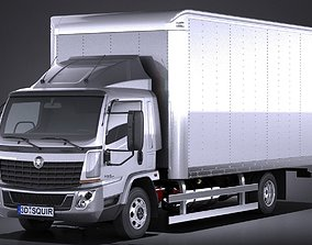 Generic Cargo Truck Mid Size 2016 3D model
