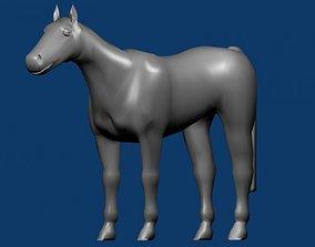 gelding 3D model Horse