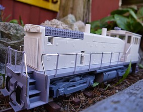 The EMD SW 1500 3d print vehicles