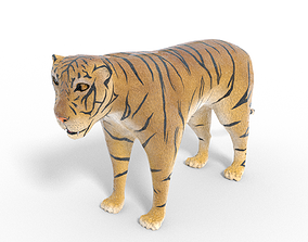 animated 3D Tiger Model