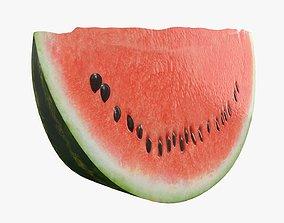 Slice of watermelon 3D model