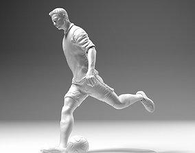 3D print model Footballer 02 Footstrike 04 Stl