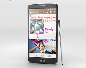 LG G3 Stylus Black 3D model