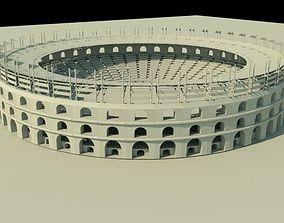3D model Gladiater arena