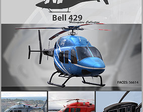 3D model Bell 429 Helicopter Pack