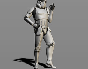 Imperial Stormtrooper 3D printable model