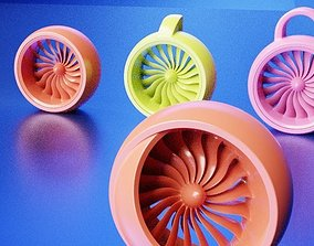 3D print model Fan blades