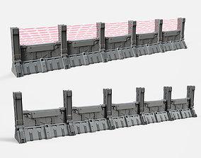 sci-fi Wall 2 3D model